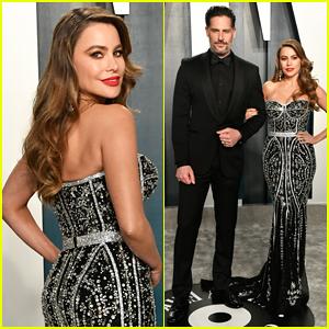 Sofia Vergara & Joe Manganiello Couple Up at Vanity Fair Oscar Party 2020!
