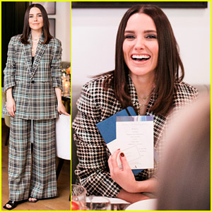 Sophia Bush Celebrates Her New Podcast with a Dinner Party!
