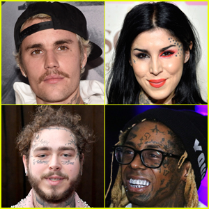 These Celebrities All Have Face Tattoos - Check Them Out!
