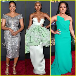 Tiffany Haddish, Cynthia Erivo, & Angela Bassett Look Radiant at NAACP Image Awards 2020