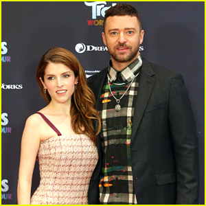 Anna Kendrick & Justin Timberlake Keep the 'Trolls World Tour' International Press Going!