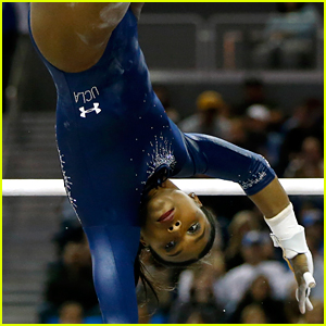 UCLA Gymnast Nia Dennis Goes Viral for