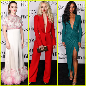 Kaitlyn Dever, Dove Cameron, Laura Harrier, & More Young Stars Celebrate Women in Hollywood Ahead of the Oscars