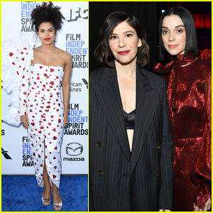 Zazie Beetz, Carrie Brownstein, & St. Vincent Attend the Spirit Awards 2020