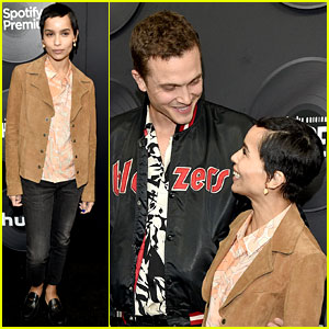 Zoe Kravitz's Husband Karl Glusman Supports Her at 'High Fidelity' Premiere!