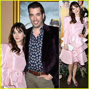 Zooey Deschanel & Jonathan Scott Have Date Night Out at 'EMMA.' Premiere
