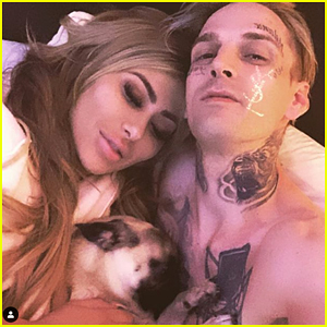 Aaron Carter's Girlfriend Melanie Martin Arrested For Domestic Violence