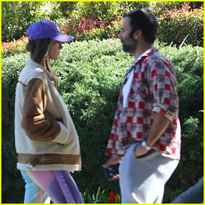 Alessandra Ambrosio Runs Into Ex Jamie Mazur During Dog Walk