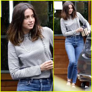 Ana de Armas Grabs Lunch with Friends After Romantic Getaway with Ben Affleck