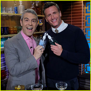 Andy Cohen's Ex-Boyfriend John Hill Roasts Him While He's in the Audience!