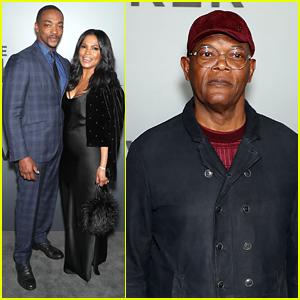 Anthony Mackie, Samuel L. Jackson & Nia Long Debut 'The Banker' in Memphis