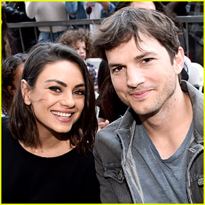Ashton Kutcher & Mila Kunis Got a Gift from Netflix's 'Cheer' & They're Freaking Out