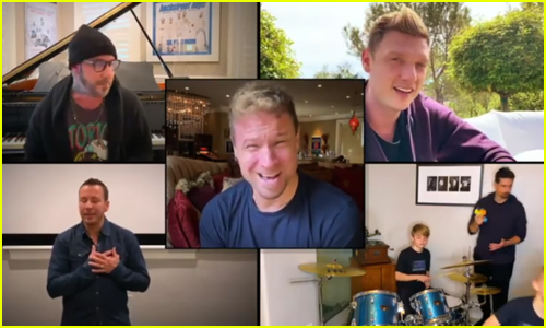Backstreet Boys Perform 'I Want It That Way' on Elton John's Living Room Concert - Watch!