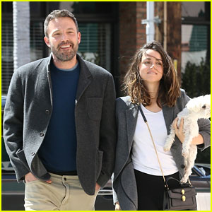 Ben Affleck & Ana de Armas Stop By Starbucks Looking So Happy Together!