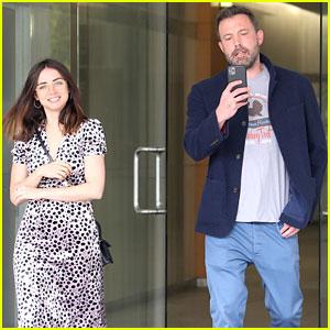 Ben Affleck & Ana de Armas Step Out Together in L.A.