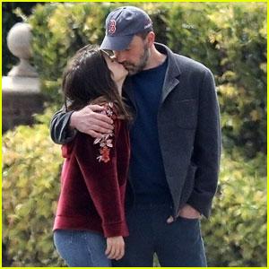 Ben Affleck Kisses Ana de Armas During Their Saturday Stroll