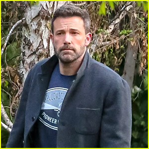 Ben Affleck Heads To Spend Time With His Kids at Ex Jennifer Garner's Home