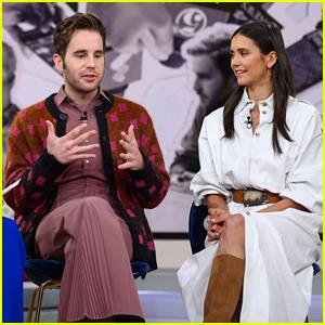 Nina Dobrev & Ben Platt Dish On Their New Movie 'Run This Town'