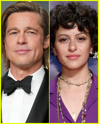 Brad Pitt Grabs In-N-Out with Pal Alia Shawkat