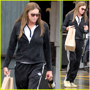 Caitlyn Jenner Grabs Takeout & Wine Amid Quarantine in Malibu