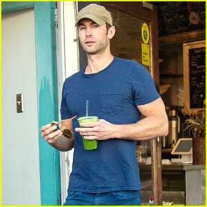 Chace Crawford Looks So Fit While Wearing a Tight Tee (Photos)