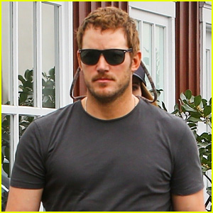 Chris Pratt Shows Off His Lighter Hair Color While Out to Lunch With Wife Katherine Schwarzenegger
