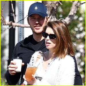 Chris Pratt & Katherine Schwarzenegger Keep Close on Their Lunch Date