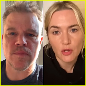 Matt Damon & Kate Winslet Join Cast of 'Contagion' for Pandemic PSAs - Watch (Video)