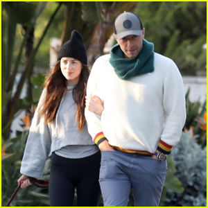 Dakota Johnson & Chris Martin Step Out for a Stroll Amid Quarantine