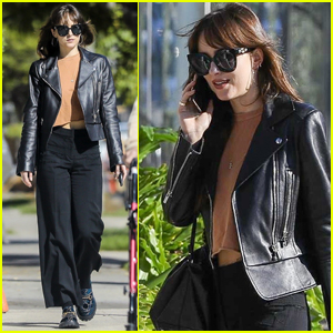 Dakota Johnson Stops by Cha Cha Matcha After Giving Tour of Her House!