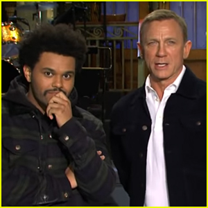 Daniel Craig & The Weeknd Team Up in Funny New 'SNL' Promo (Video)