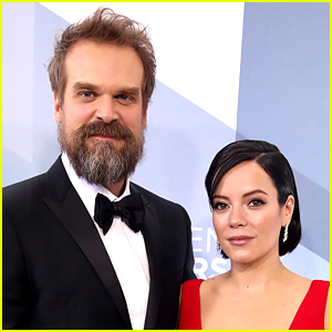 Lily Allen & David Harbour Spark Rumors That They Got Married!