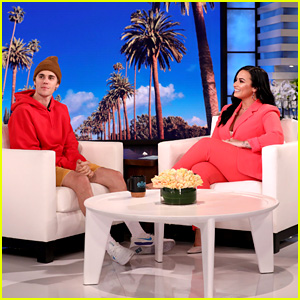 Demi Lovato Looked to Justin Bieber for Inspiration During Recent Struggles - Watch (Video)