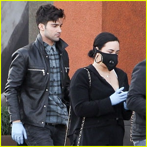 Demi Lovato Was Spotted with Max Ehrich Last Week - See the Photos!