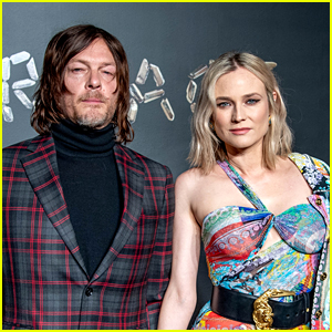 Diane Kruger Calls Out Boyfriend Norman Reedus for His Coronavirus Food Haul