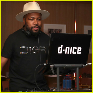 DJ D-Nice's Virtual Dance Parties Attended by Michelle Obama, Joe Biden, Rihanna & More!