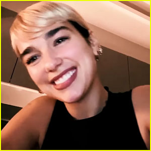 Dua Lipa Performs 'Don't Start Now' With Help from Her Friends While at Home!
