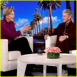 Elizabeth Warren Talks Super Tuesday on 'Ellen,' Reveals If She'll Stay in the Race