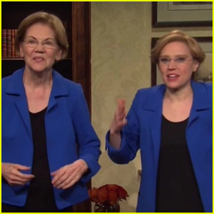 Elizabeth Warren Reveals How She's Doing Since Dropping Out of Presidential Race in 'SNL' Cold Open - Watch!