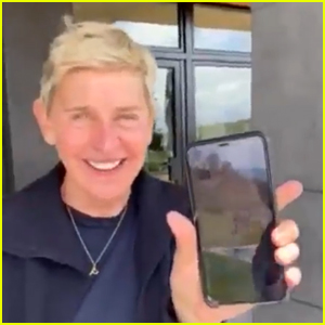 Ellen DeGeneres Calls Kevin Hart & Tiffany Haddish While Self-Quarantined - Watch!