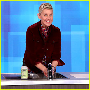 Ellen DeGeneres Teaches Fans How to Wash Hands Properly to Protect from Coronavirus