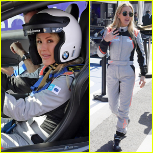 Ellie Goulding Gets in the Driver's Seat at Formula E Track in Morocco!