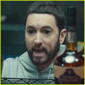 Eminem Hallucinates Off of 'Godzilla' Whiskey in New Music Video - Watch!