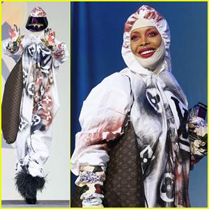 Erykah Badu Rocks 'Social Distancing Couture' at Texas Film Awards Amid Coronavirus Outbreak!