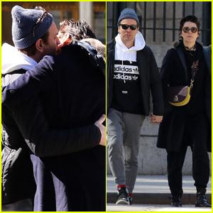 Ewan McGregor & Mary Elizabeth Winstead Share Steamy Kiss in NYC!