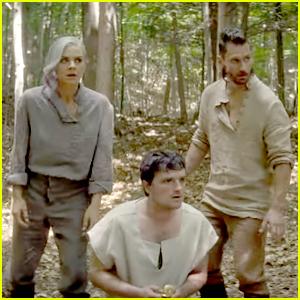 Josh Hutcherson Is A Fugitive On The Run in 'Future Man' Trailer