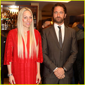 Gerard Butler Joins the Ambassador of Sparta at Gala Dinner Ahead of Olympic Torch Relay