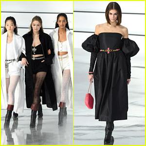 Gigi Hadid Closes Chanel Fashion Show Alongside Models Who 'Light Up So Many Work Days'
