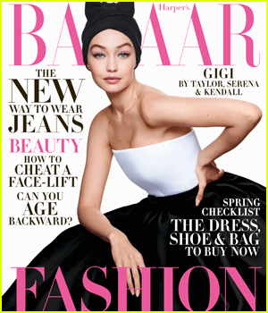 Gigi Hadid is Interviewed by Taylor Swift, Kendall Jenner, & More Famous Friends for Harper's Bazaar!