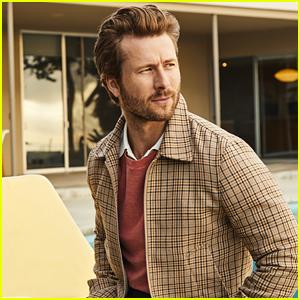 'Top Gun' Star Glen Powell Looks Handsome in Bloomingdale's Menswear Campaign
